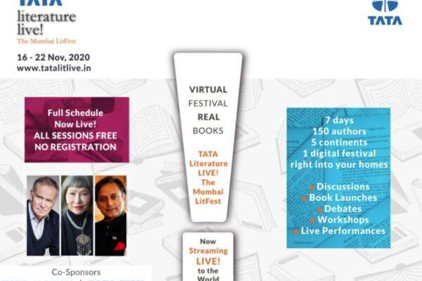 Screenshot of the Tata Literature Festival