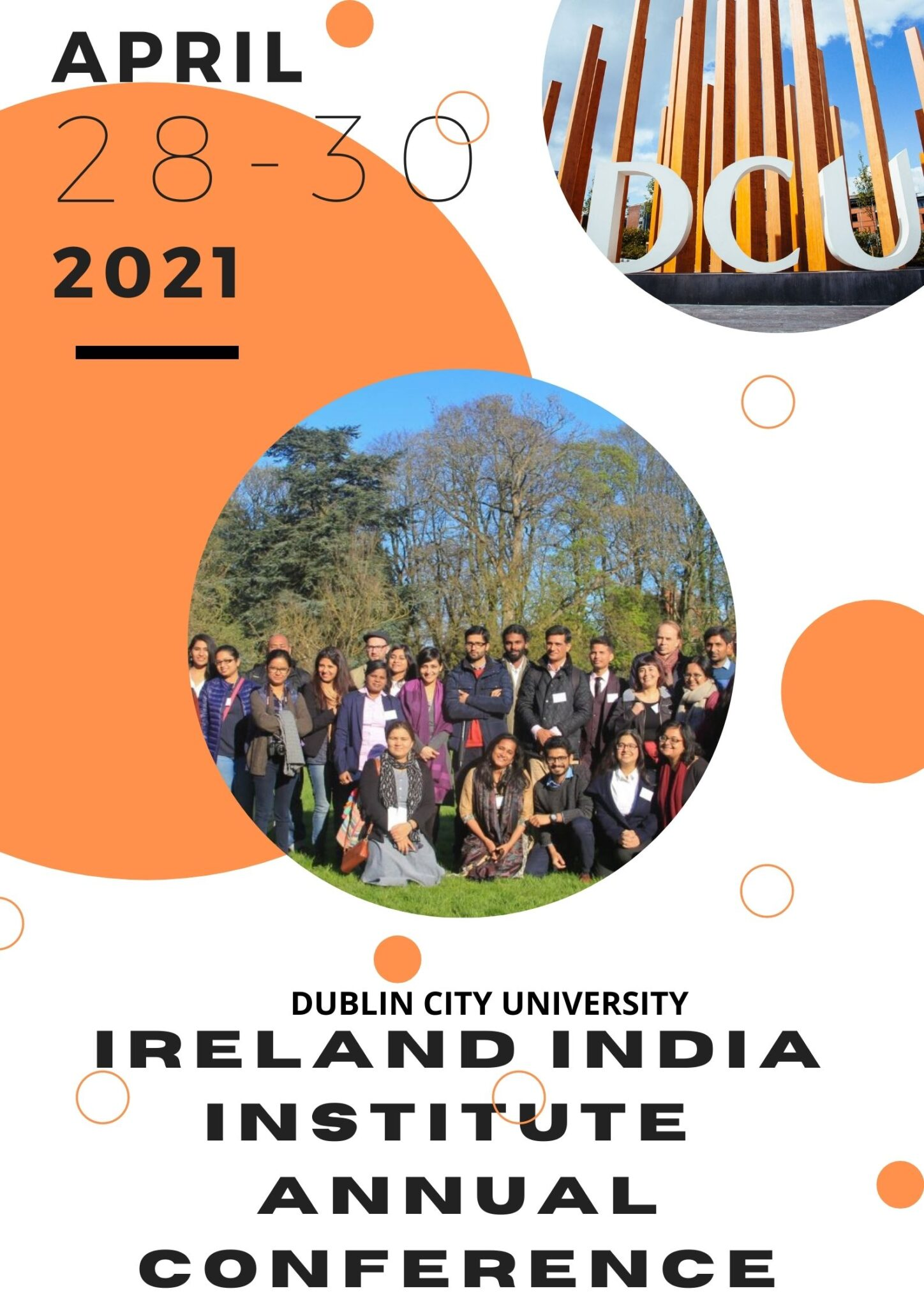 Poster for Conference 28-30 April 2021