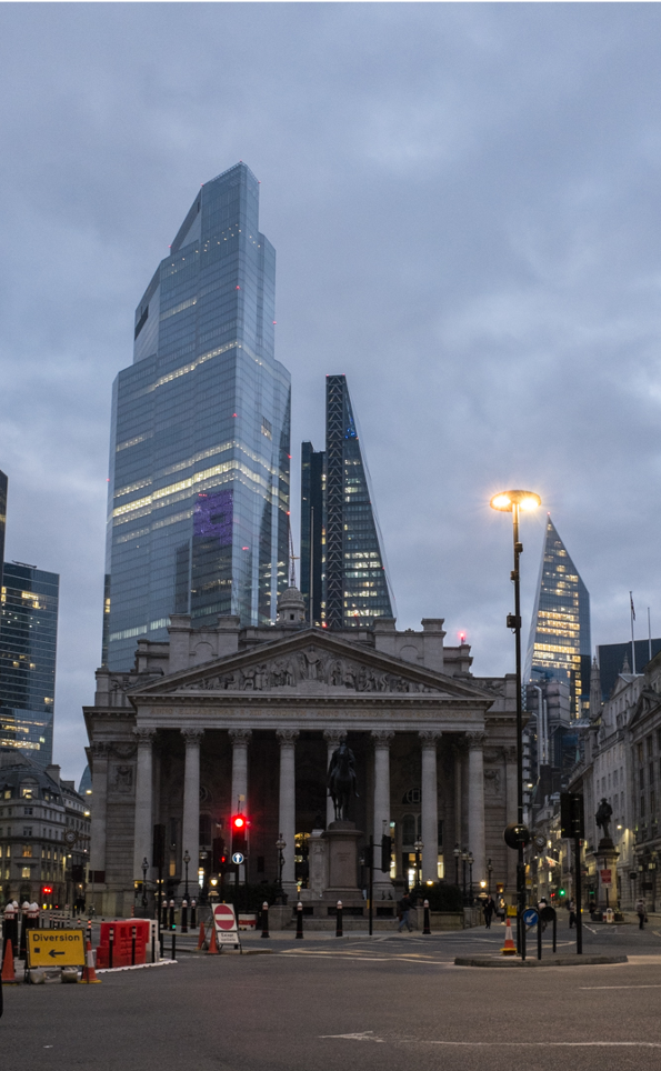 Photo Of An Empty Street in London