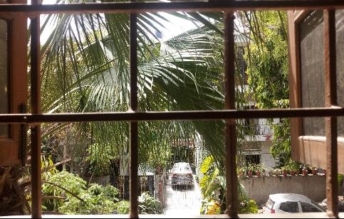 photo of sunny window in India