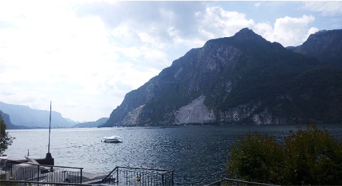 Photo of a Lake in Italy