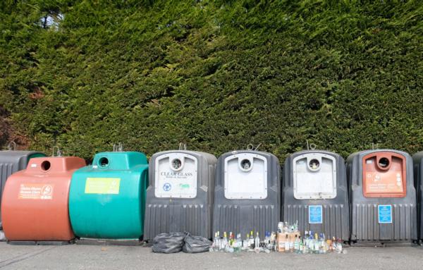 Photo of bottle banks