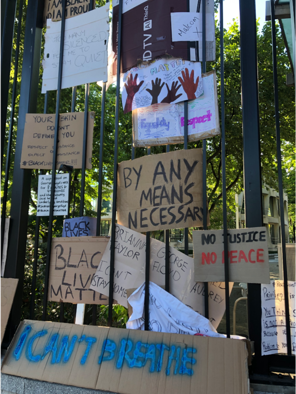 Photo of black live matter protests