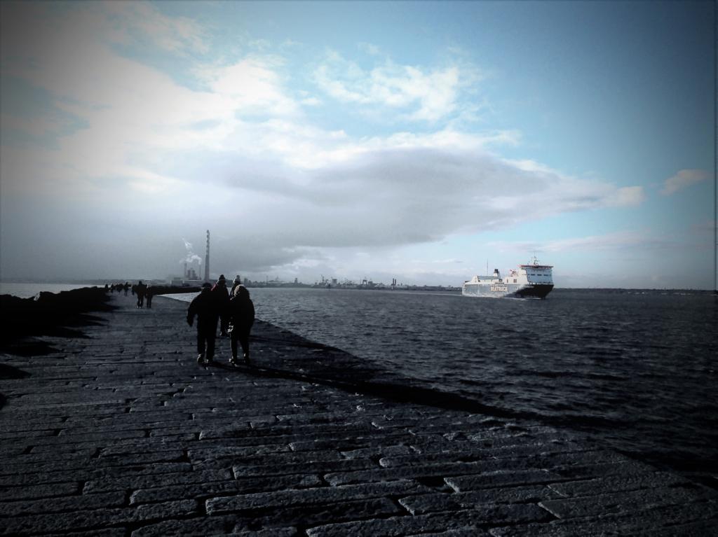 Photo of a sea side in Dublin