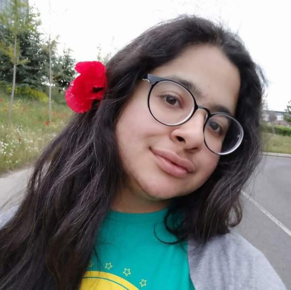 selfie of Tapasya