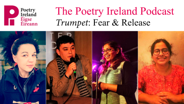 cover of podcast for the poetry ireland podcast event
